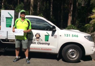 Jims Bin Cleaning - Greg